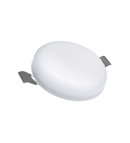 6w Round LED Panel Light Recessed with Edge Lit 6500k 6RCWA