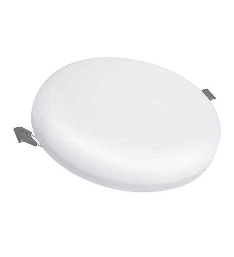 24w Round LED Panel Light Recessed with Edge Lit 6500k 24RCWA