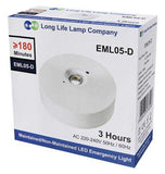 LED Emergency Light Ceiling Mounted Maintained/Non Maintained EML05D