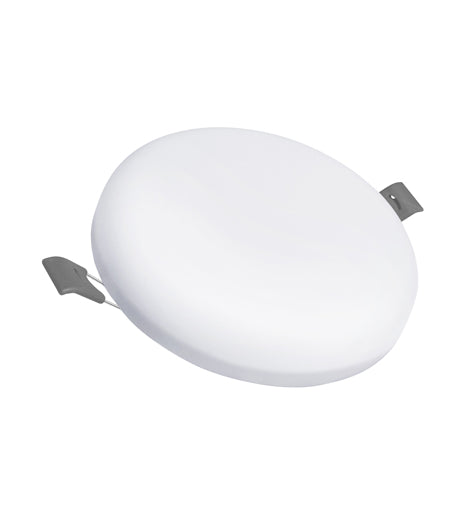 18w Round LED Panel Light Recessed with Edge Lit 6500k 18RCWA