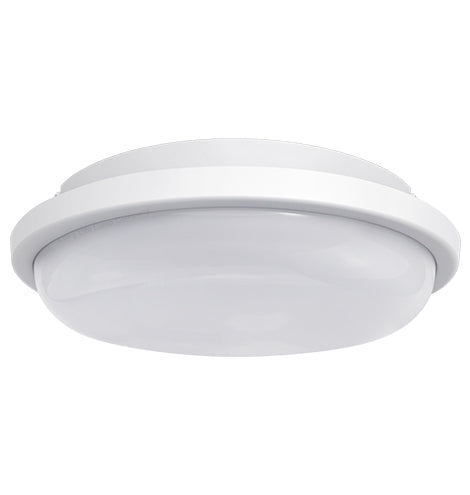 20w LED Bulkhead Round Ceiling Light Flush Mounted 6500k Cool White IP54 CW02
