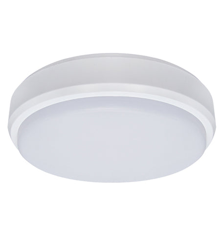 18w Round LED Ceiling Light Motion Sensor IP54 Microwave Technology Bulkhead 6000k