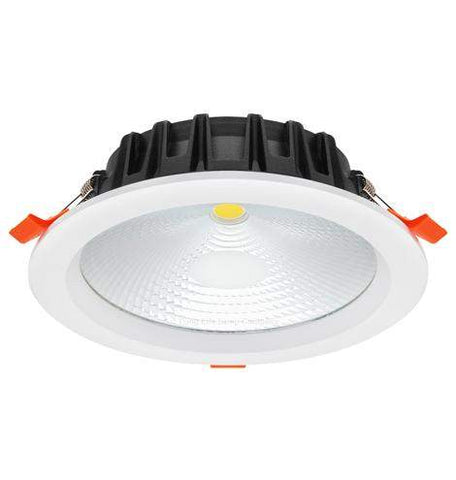 COB 24W Recessed Commercial LED Downlight 6000k PL Metal Halide Replacement CDL24