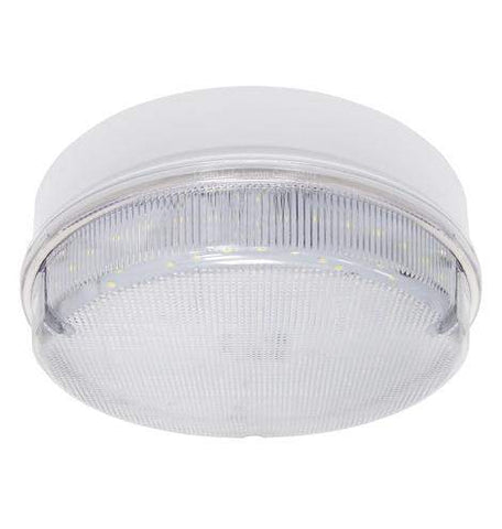 Round 18w LED Ceiling Light IP65 6500k Bright Daylight Surface Mount Bulkhead 0832