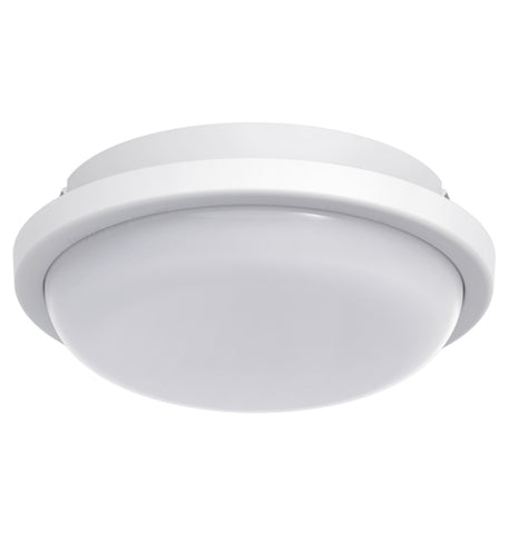 15w LED Bulkhead Round Ceiling Light Flush Mounted 6500k Cool White IP54 CW01
