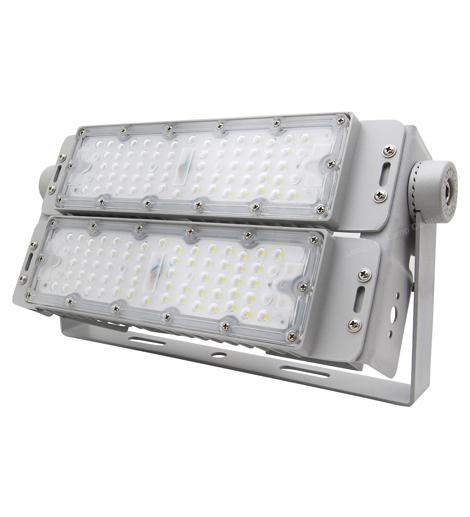 100w LED Tunnel Light 6000k IP65 High Brightness Flood Light