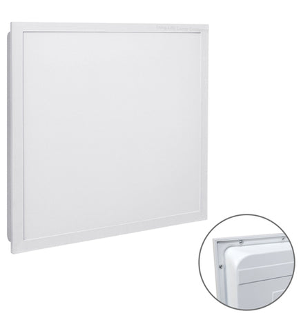 40W Backlight Heat Sink Ceiling Panel Light 600 x 600 6500k