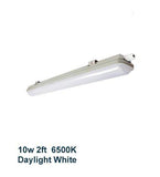 10w 2 feet LED Ceiling Batten Light Triproof Fitting IP66 6500K