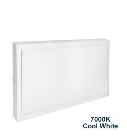 30w Surface Mount LED Square Panel 7000K Cool White 300 x 600