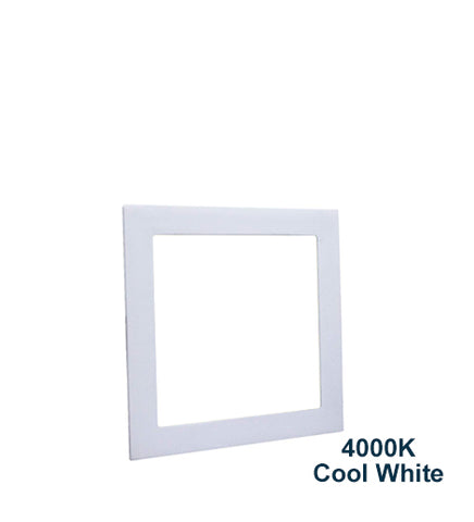 18w Recessed Ceiling LED Square Panel 4000K White 225 x 225