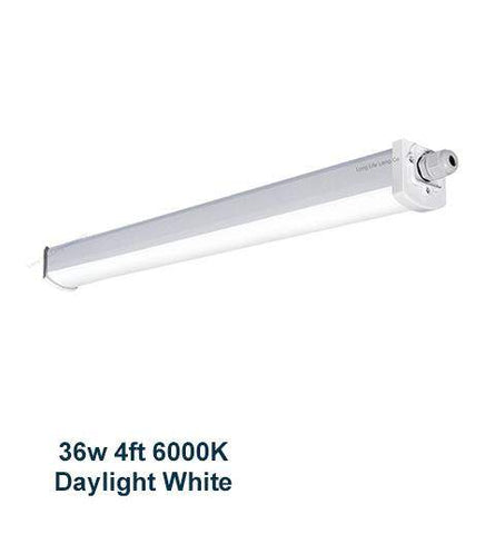 36w 4 feet LED Ceiling Batten Light Triproof Fitting IP66 6000K