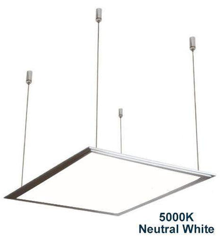 48w Hanging Ceiling LED Panel 5000K Neutral White 600 x 600