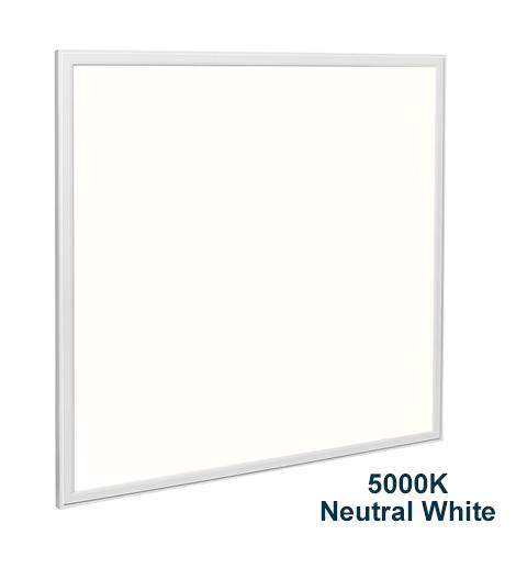 48w Recessed Ceiling LED Panel 5000K Neutral White 600 x 600