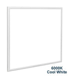 48w Recessed Ceiling LED Panel 6000K Cool White 600 x 600