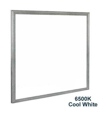 48w Recessed Ceiling LED Panel Aluminium Trim 6500K Cool White 600 x 600