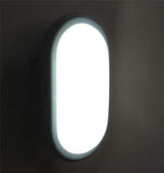 10w Outdoor LED Bulkhead Security Wall Light Cool White 6000k