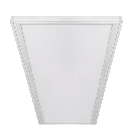 LED Panel Surface Mounting Frame Box Kit For Ceiling Panel 1200 x 600 White Body