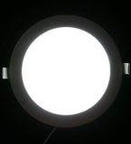18w Recessed Ceiling LED Round Panel 6500K Cool White 220mm