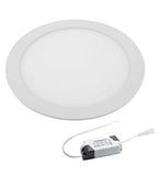 18w round ceiling light panel cool white