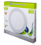 10 PACK 18w Recessed Ceiling LED Round Panel 6500K Cool White 220mm