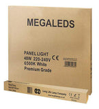 40w Surface Mount LED Square Panel 6500K Cool White 600 x 600