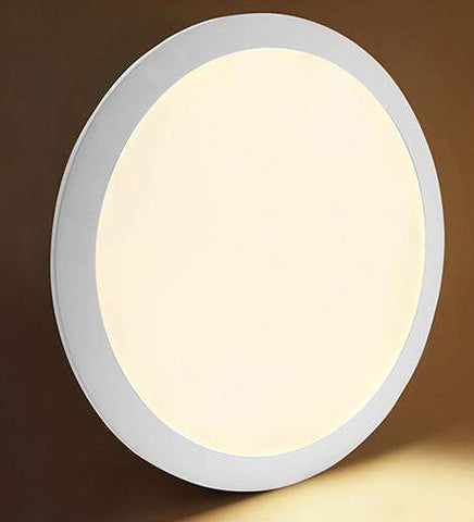 24w Recessed Ceiling LED Round Panel 3500K Warm White 300mm