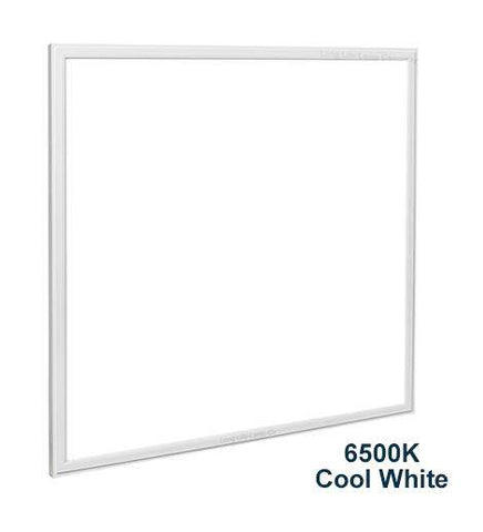 48w Recessed Ceiling LED Panel 6500K Pure White 600 x 600 PMMA