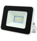 10w Outdoor LED Floodlight White Body IP65  Cool White 6000k SL10W