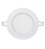 6w Recessed Ceiling LED Round Panel 7000K Cool White 120mm