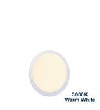 12w Recessed Ceiling LED Round Panel 3000K Warm White 170mm