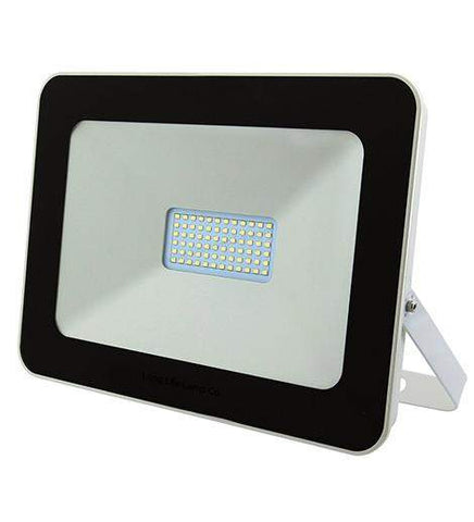 50w Outdoor LED Floodlight White Body IP65 Cool White 6000k SL50W