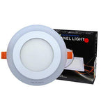 6w Recessed Ceiling LED Round Panel Red 145mm