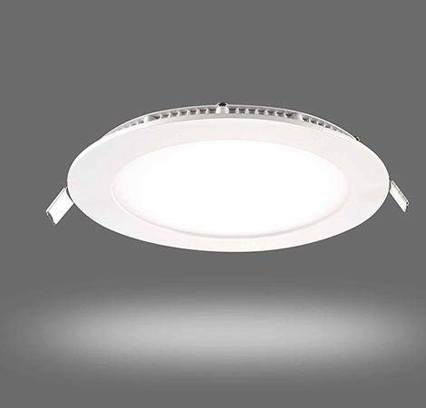 12w Recessed Ceiling LED Round Panel 6500K Cool White 170mm