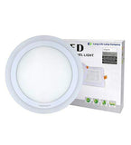 18w Surface Mount Ceiling LED Round Panel Blue 247mm