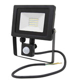 20w Outdoor LED PIR Floodlight IP65 Waterproof Cool White 6000k