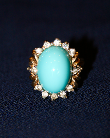 1970's Turquoise Panetta ring