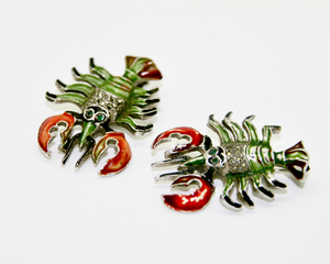 1940-50's BJL Lobster scatter pins