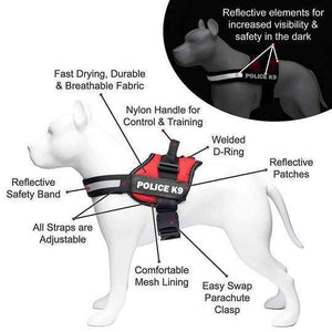 All-In-One no pull dog harness