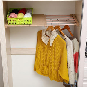 Adjustable Closet Organizer Shelving Racks