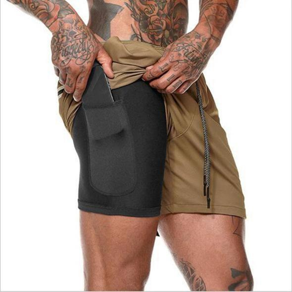 ( 50% Off&Limited Stock!)2-in-1 Secure Pocket Shorts
