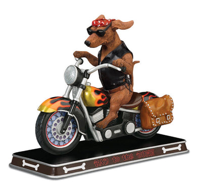 Danbury Mint Bad to the Bone Sculpture