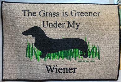 The Grass is Greener Under My Wiener Doormat