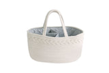 Diaper Caddy Organizer - Cream/Off White