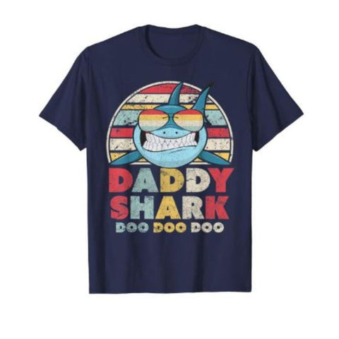 Family Shark Tee - Daddy Shark