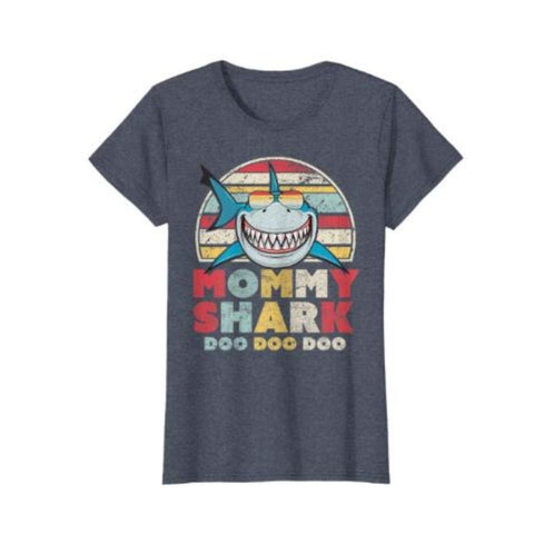 Family Shark Tee - Mommy Shark