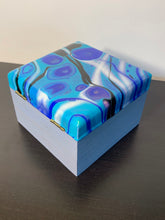 Load image into Gallery viewer, Trinket Box-Blue