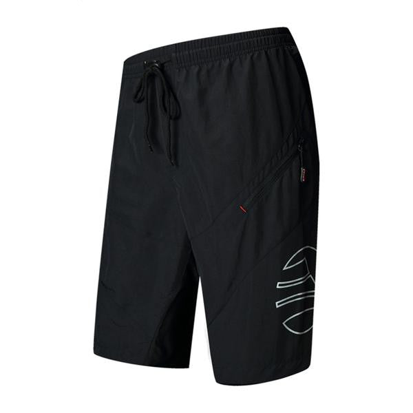 SANTIC Cycling Shorts 1//2 Leisure Shorts Sportswear Loose Fit With 3D Padded