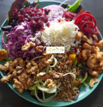 Load image into Gallery viewer, Organic Raw Salad with the Works Meal Preparation