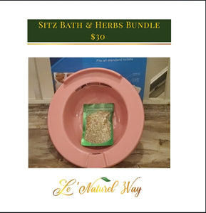 Sitz Bath Bundle