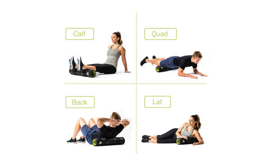 GRID 2.0 Foam Roller - sort
